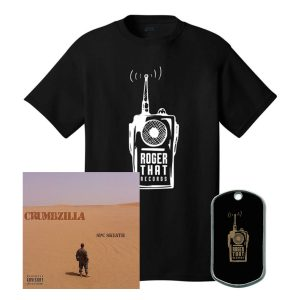 Crumbzilla T-Shirt, Dog Tags and CD Autographed Bundle